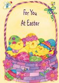 Easter Card-Egg Chicks